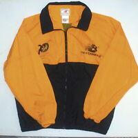 Mens XL New Balance 1997 20th Chicago LaSalle Marathon Nylon Windbreaker Jacket