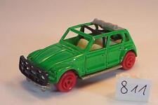 Majorette 1/60 Nr. 231 Citroen Dyane Rallye grün rote Räder #811
