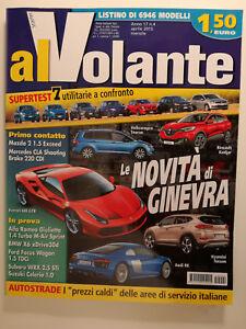 Al Volante Rivista Auto Aprile 2005 anno 17 N° 4 Le Novità di Ginevra
