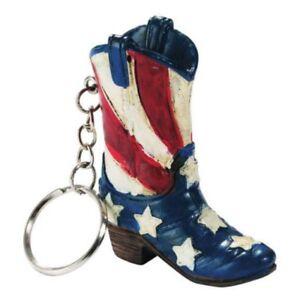 Western Schlüsselanhänger US Stiefel