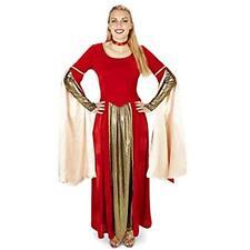 Dream Weavers Costumers - Red Velvet Renaissance Dress Adult Costume - Medium