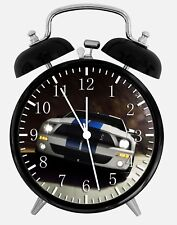 """Mustang GT Alarm Desk Clock 3.75"""" Home or Office Decor W160 Nice For Gift"""