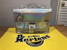 """Dr.Martens Metallic Silver Satchel Backpack Shoulder Bag!13""""! New!Only £139,90!"""