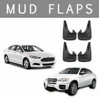 4x Universal rubber Car MudFlaps mud flaps for Vauxhall Astra,Corsa Vectra UK