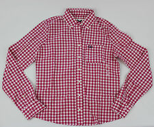 Gilly Hicks by Abercrombie Women's Plaid Flannel Shirt Size Small New !!