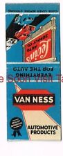 1930s Levin's Auto Supply Co Van Ness Products San Francisco CA Matchcover