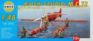 Macchi Castoldi MC.72 Schneider Trophy Floatplane (1/48 model kit, Smer 0813)