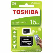 Toshiba M203 16GB MicroSDHC Card (THNM203K0160EA)