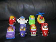 Set of 8 Little People Cars