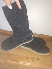 Uggs Australian black slouch little girls size 2 boots