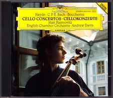 MATT Haimovitz: Haydn C.P.E. Bach Boccherini Cello Concerto DG CD Andrew Davis