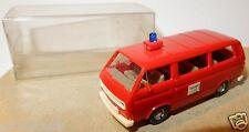 WIKING HO 1/87 VW VOLKSWAGEN TRANSPORTER T3 COMBI FIRE POMPIERS FEUERWEHR 112 b2