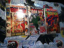 The Invincible Iron Man  #18 #19 #20 Marvel comics Avengers Appearance Lucifer