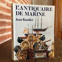 L' Deko Tablett Metall Antik Marine Jean Randier Ausgabe Putnam 1985