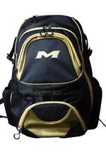 Miken XL Gold Backpack Bat/Equipment Bag MKBG18-XL-GLD