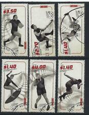 NEW ZEALAND 2020 TOKYO OLYMPIC GAMES SET OF 6 FINE USED