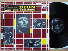 Dion & The Belmonts ‎– Presenting Dion And The Belmonts  ** LP **    ACE records