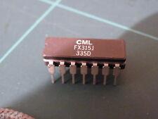 CML CTCSS IC Type FX315 FX315J Ham Hobby Electronics  CA29C