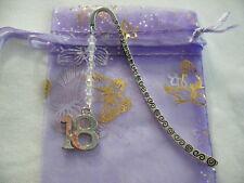 18th birthday beaded tibetan silver handmade bookmark party favour bag