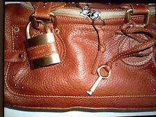 Original Chloe' Echtleder Tasche Paddington Braun nummeriert Top-Zustand