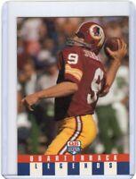 1991 QUARTERBACK LEGENDS FOOTBALL CARD # 24 - HOF - SONNY JURGENSEN - WASHINGTON