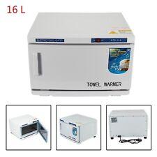 16L Towel Warmer UV Sterilizer Disinfection Hot Heater Cabinet Salon Spa Beauty