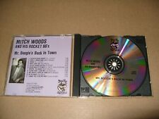Mitch Woods  Mr. Boogie's Back in Town 1988 cd Ex+/Booklet Very good (C27)