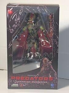 Predators Unmasked Berserker Hiya Toys PX 1/18 Scale Action Figure