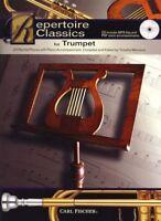Repertoire Classics - Trumpet Trumpet, Piano Accompaniment Sheet Music, CD Backi