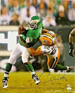 Green Bay Packers Clay Matthews Signed 16x20 Photo James Spence JSA COA