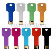 32GB 32G Metal Key USB 2.0 Flash Memory Drive Stick Pen Storage Thumb Disk