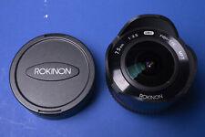 Rokinon 7.5mm fisheye lens for M43 MFT Panasonic Olympus