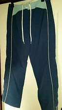Brand New : Two Tone Blue Jogging Trousers  Size 14