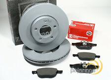 Ford Focus III - zimmermann Discos de Freno Pastillas Para Eje Delantero
