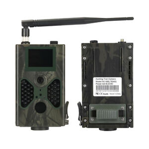 4G LTE Hunting Trail Camera 16MP Night Vision Wildlife Scouting Camera HC-330LTE