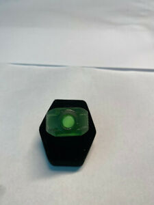 Green Lantern Movie Ring with Glow-in-the-dark stone, resin, made in USA