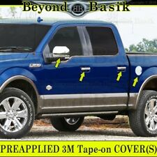 For 2015 16 Ford F150 F-150 Chrome Covers Set Mirrors Door Handles Tailgate Gas