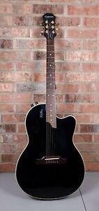 Epiphone Chet Atkins SST Studio Black Acoustic Electric Guitar