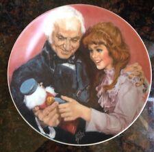 A Gift From Godfather 1979 Artist Shell Fisher Nutcracker Ballet Plate Usa