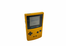 Gameboy Color  Gelb ?Klassiker? CGB-001 ohne Batteriefach #7