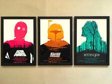 3pcs Solid frame - 001 Star wars 12x16 Minimalist Wall Decor Poster Frame