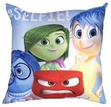 Disney Pixar Inside out Emotion Cushion 35cm X 35 Cm Printed Boys Girls Bedroom