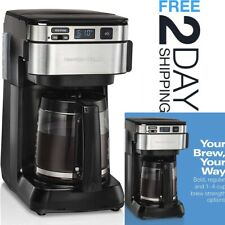 Coffee Maker Machine Programmable Espresso Electric Making 12 Cups Capacity