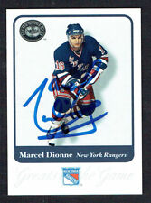 Marcel Dionne #16 signed autograph 2001 Fleer Hockey Greats of the Game GOTG