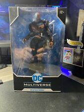 New McFarlane Toys DC Multiverse Deathstroke: Batman: Arkham Origins 7-Inch Acti