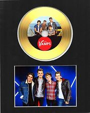 The Vamps Gold Disc Display #2