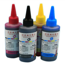 Color Ink Cartridge Refill Replacement Kit For HP & Canon Series Printers 100ml