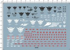 Super Detail Up 1/100 MG GN003 GN-003 Kyrios Gundam Model Water Decal 60669