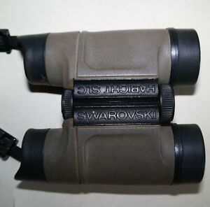 Altes Fernrohr Fernglas Feldstecher HABICHT SLC SWAROVSKI, 8 x 30 W
