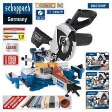 Scheppach Multifunktions-Kapp-Zugsäge HM100MP + Laser + Sägeblatt Ø255mm 2150W